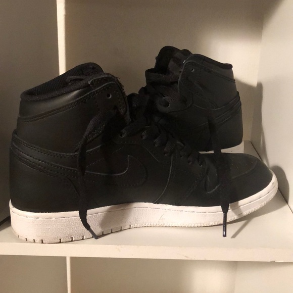 d88ab3604cf Nike Black Air Jordan 1 Retro High OG